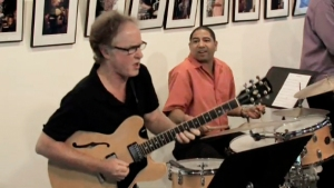 Jay Azzolina, guitar, and Tony Jefferson, drums