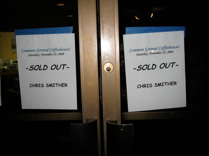 Common Ground's first sellout!